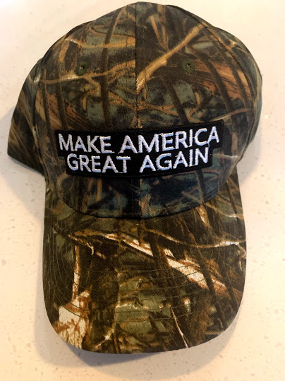 Make America Great Again hat camo