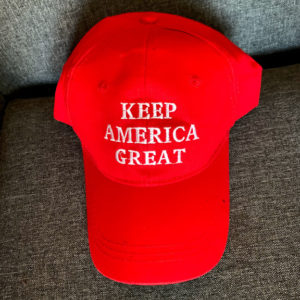 Keep America Great red hat
