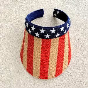 flag visor