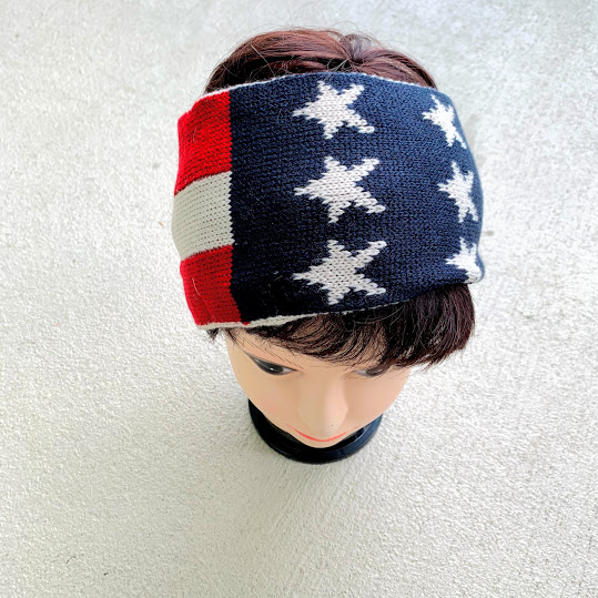 flag head band
