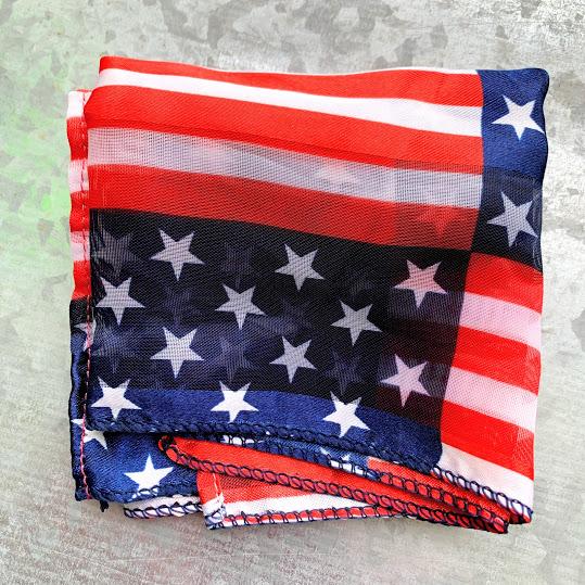 flag pocket square