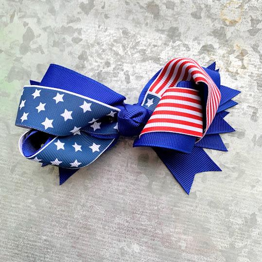 flag bow