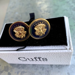 trump 2020 cuff links