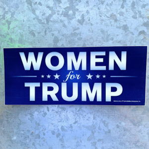 Women for Trump Bumper Sticker
