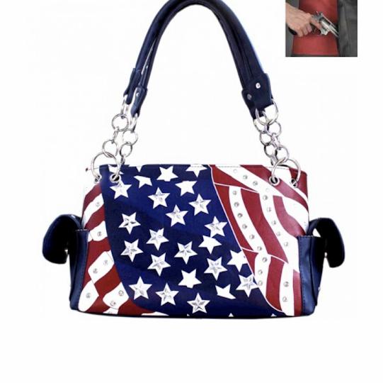 concealed flag purse