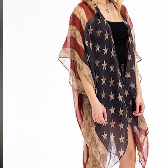 flag poncho