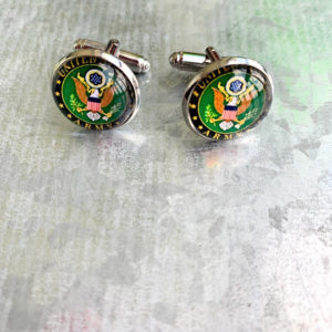 Army cuff links