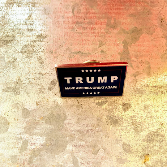 Trump MAGA pin