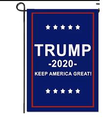 trump garden sign