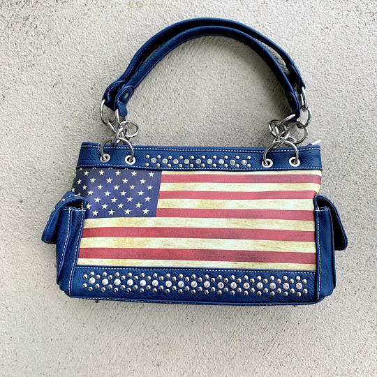 American flag purse
