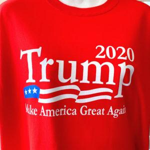Trump 2020 red tshirt