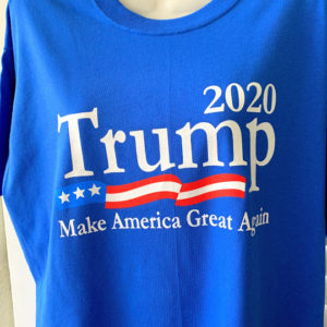 Trump blue 2020 tshirt